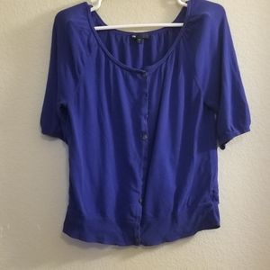 Blue Gap button down cover all size large